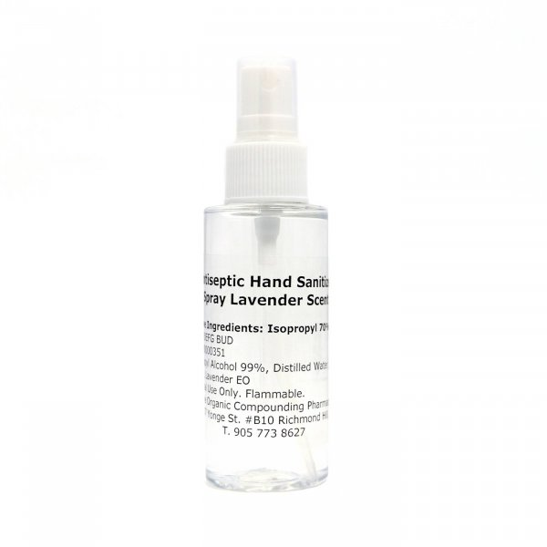 Antiseptic Hand Sanitizer Spray 60 mL