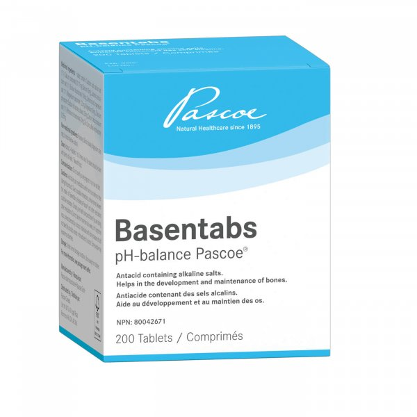 Basentabs pH-balance Pascoe 200 Tablets