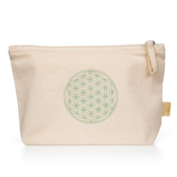 Flower of Life Beauty Pouch